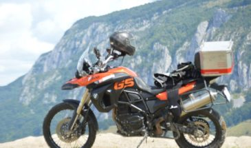 BMW F850GS motorbike hire Romania