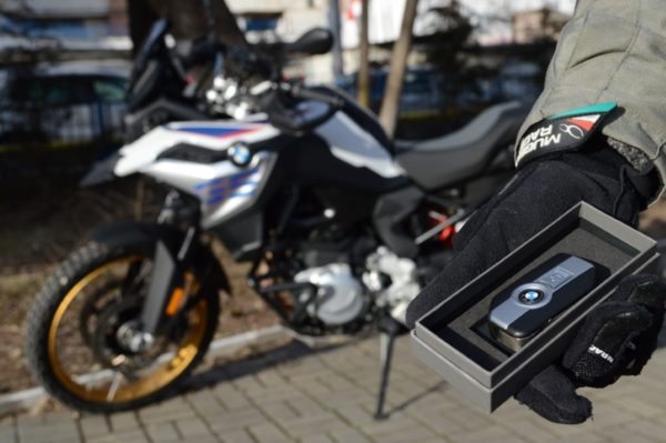 BMW motorbike rental romania