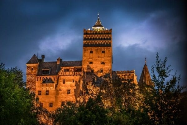 Bran Castle Romania motorcycle tours
