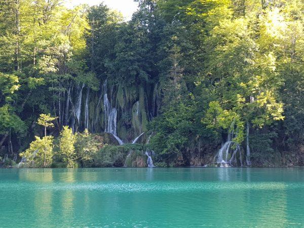 Eastern Europe Motorcycle Trip Plitvice Jezero Croatia