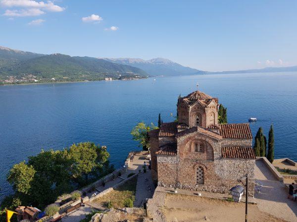 Europe Motorcycle Tour Ohrid Lake Macedonia