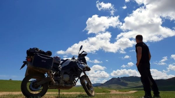 motorcycle rental romania bmw f850gs