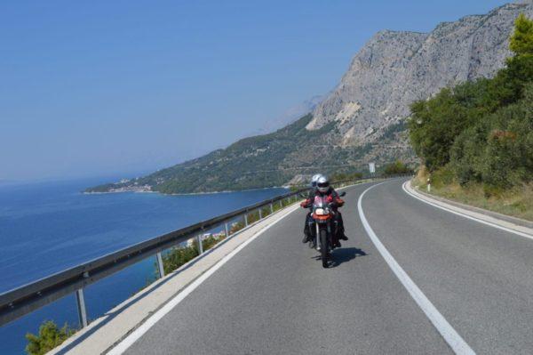 motorcycle tour Europe, Dalmatian Coast