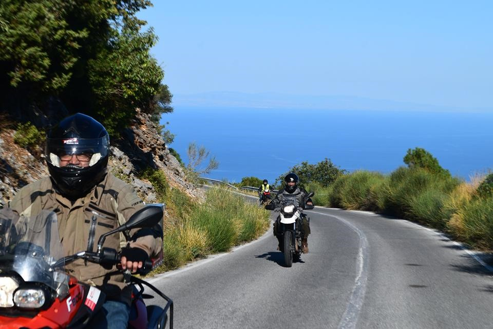 olympus mountain motorbike tour greece