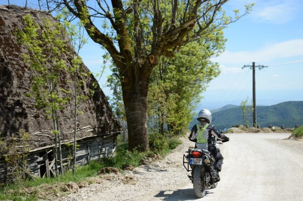 Private off-road motorcycle tour romania Transapuseni