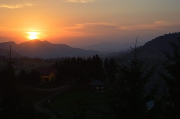 romania motorcycle tours sunset