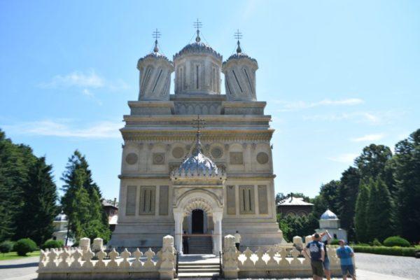 bmw motorcycle touring Romania Arges Monastery