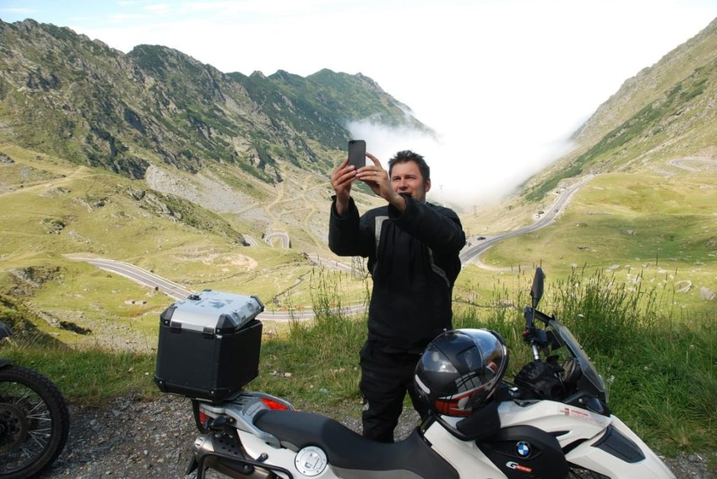 private motorcycle tour romania
