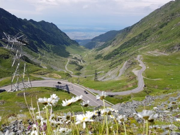 Transfagarasan Road motorcycle tour Romania