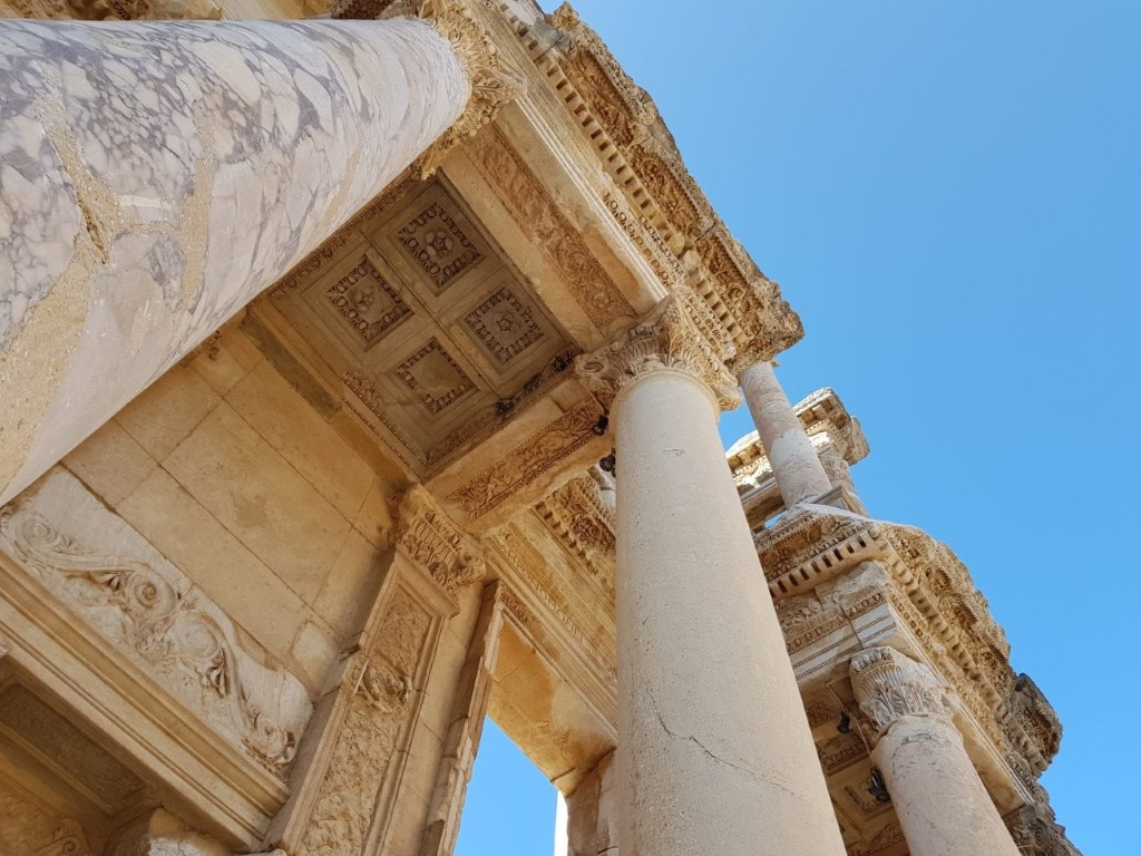 motorcycle tour turkey celsus library