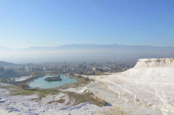 turkey motorcycle tour pamukkale travertines