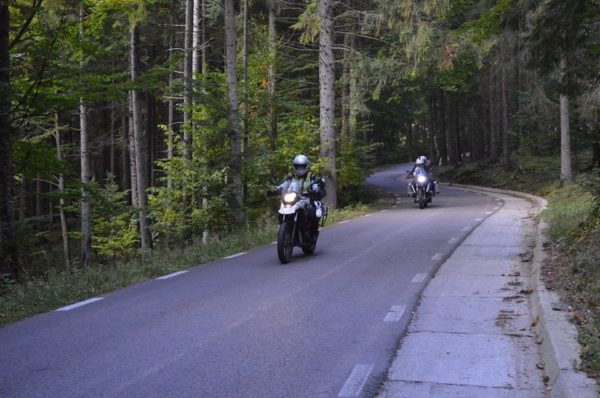 bmw motorcycle touring transrarau road