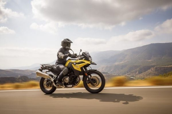 golden bmw f 750 gs motorcycle tour europe