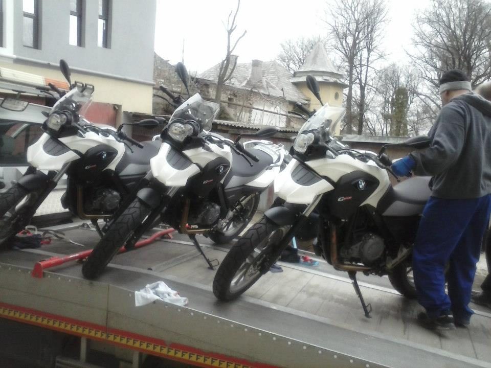 motorbike towing services romania